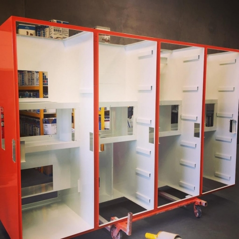 powder coating Switchboards Perth