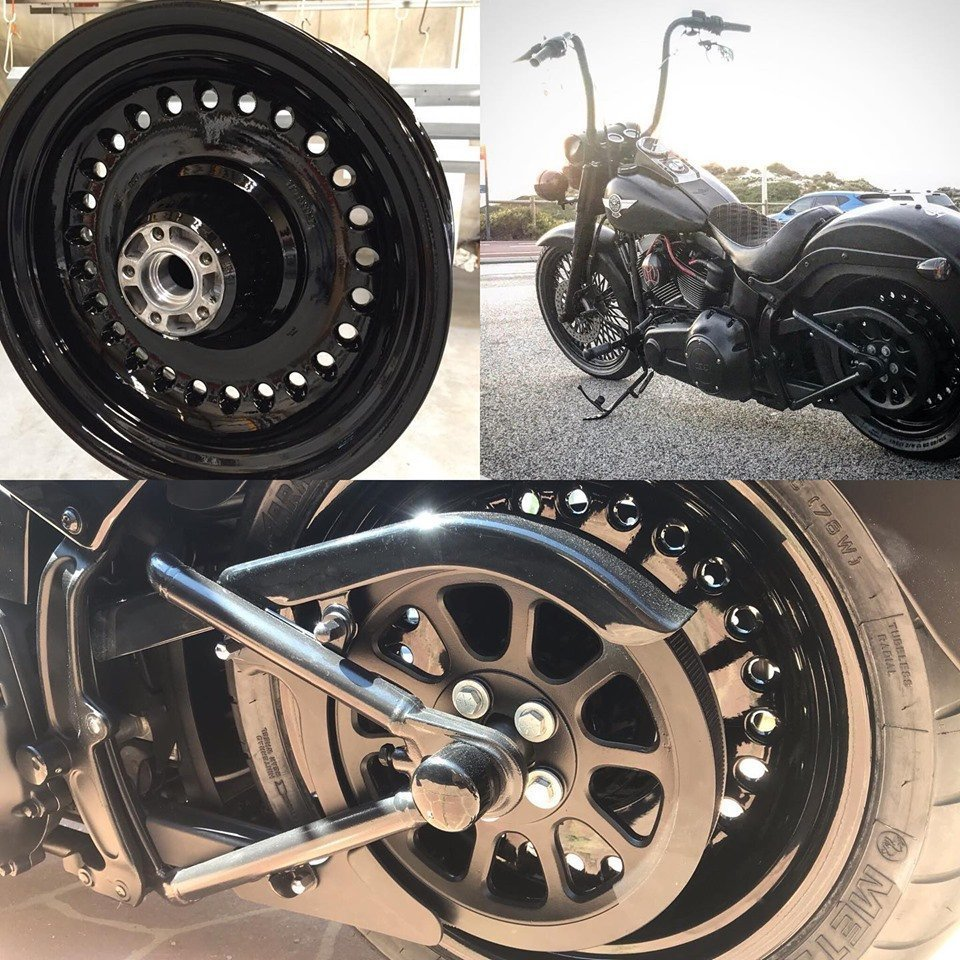 Alloy And Steel Rims