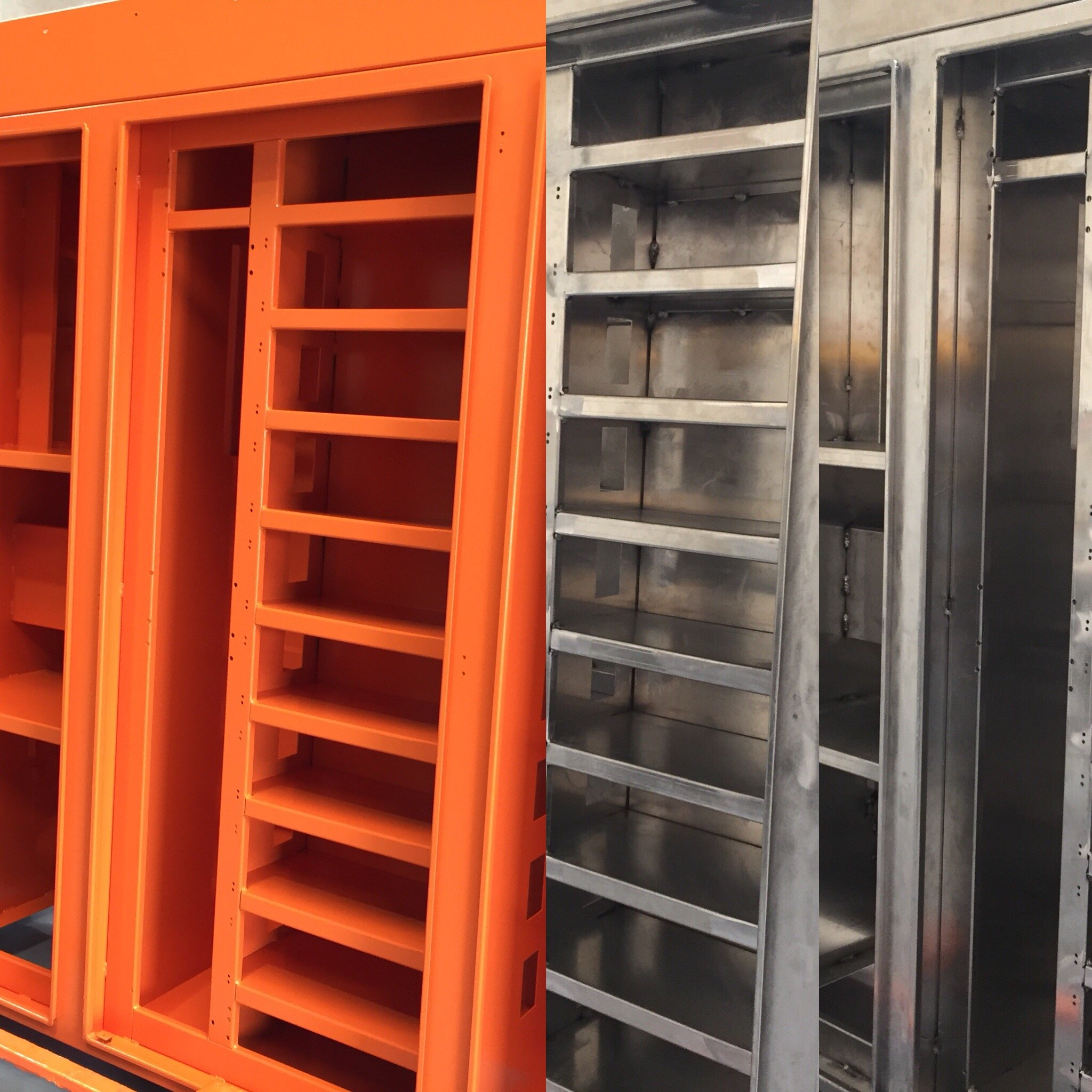 switchboard powder coating